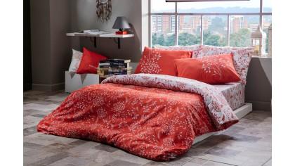 Set Asternut Coral  Lenjerie de pat