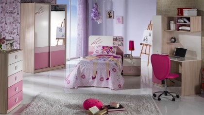 Noptiera Tineret Portivo Pink BELLONA Noptiera