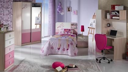 Noptiera Tineret Portivo Pink BELLONA Noptiera 22PRT2300NUPK