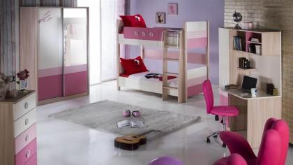 Birou Tineret Portivo Pink BELLONA Birou 22PRT3200NUPK