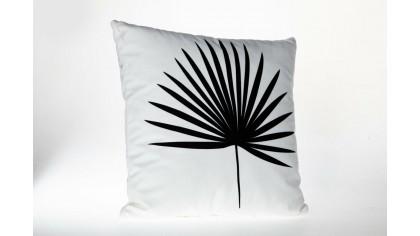 Fata de pernă imprimată cu model necolorat UNC05 45x45 - Alb DOQU Home textile 2Q9KKDK0000UNC050