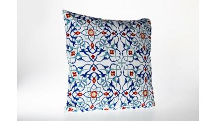 Husă de pernă imprimată cu model otoman OTM04 45x45 - Alb DOQU Home textile 2Q9KKDK000OTTM040