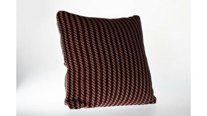 Husă de pernă decorativă cu model de dungi 45x45 - Caramel DOQU Home textile 2Q9KISF0000000002