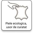 Piele ecologica usor de curatat