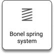 Bonel spring system